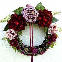 Summer Wreath, 4th Of July Wreath, Grapevine Wreath, Grape Vines, Christmas Wreaths, Floral Wreath, Holiday Decor, Floral Crown, Vineyard Vines