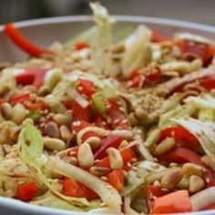 Red Pepper and Fennel Bulb Salad education