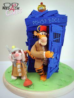 That is way too cute. Dalek Piglet!!