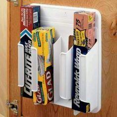 Aluminum, Saran Wrap & Wax paper holder