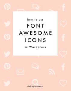 Want to add icons to your blog? Check out this tutorial on how to use Font Awesome Icon for WordPress