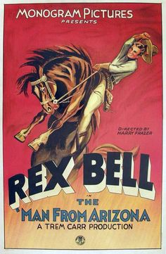 Poster from the film The Man From Arizona