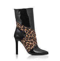 Jimmy Choo Rebellious Leopard Print Boots
