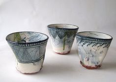 Mud)Bucket: Jérôme Galvin want want want want Ceramic Bowls, Ceramic Pottery, Pottery Art, Ceramic Art, Stoneware, Slab Pottery, Thrown Pottery, Pottery Studio, Pottery Mugs