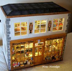 Toyshop the Nutcracker with lighting