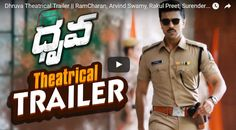dhruva movie theatrical trailer ram charan arvind swamy rakul preet