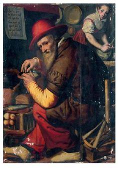 Le compteur de grains d'orge (The Barleycorn Counter) by Pieter Pietersz | Blouin Art Sales Index