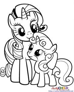 My Little Pony Princess Luna Coloring Pages 11 Pinterest
