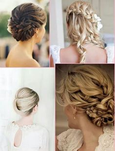 Wedding Hairstyles, Hair Styles, Fashion, Hairstyles, Moda, Hairdos, Wedding Hair, Fasion, Wedding Hair Down