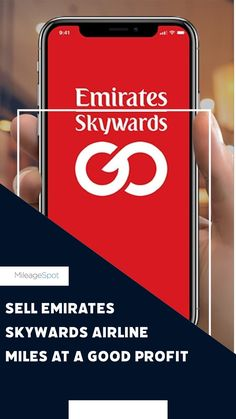 It's a fact that users can #Sell #Emirates #SkywardsAirlineMiles at a good profit. It is evidence of the program's worth in the market. Customers buy, earn, redeem or Sell #EmiratesSkywards #AirlineMiles to enjoy maximum benefits. You can sell your #miles to #MileageSpot. #MS #AirMiles #WhyWaste #CashForPoints #CreditCard #Points #CreditPoints Facts, Ms