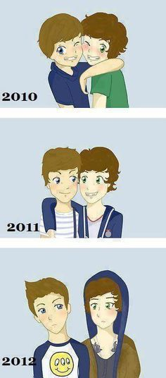 i hate all these larry stuff. just go away so they can be close again.