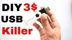 DIY 3 $ USB Killer   Tester !