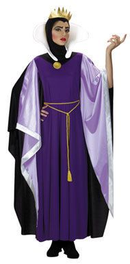 Disney Wicked Wear Evil Queen Deluxe Adult Costume size L 12-14, snow white | eBay