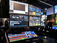 The Tricaster 8000 - The best multi-video production unit on the planet! Available to hire now at... www.cuemedia.com
