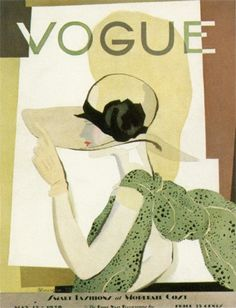 Vintage Vogue Magazine Cover 1938