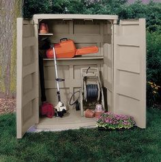SUNCAST VERTICAL GARDEN SHED GS4000 [MGS4000] - $879.00 : LANDERA, Outdoor storage and furniture