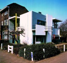 GERRIT RIETVELD, Maison Rietveld Schröder, Utrecht, 1924