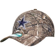 the latest fe57d 97a95 Dallas Cowboys New Era The League 9FORTY Adjustable Hat - Realtree Camo