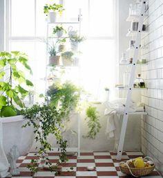 Viherkasvit ovat nyt supertrendi. Onko tämä unelmiesi kylpyhuone?
