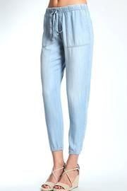 Slouchy Brushed Tencel Pants
