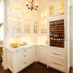I'm loving this butlers pantry found on futurahome.com!!! See more from my blog at lucywilliamsinteriors.com #butlerspantry #kitchens #kitchendesign #lucywilliamsinteriorsblog