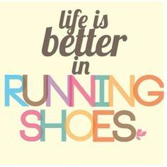 running shoes rocks!