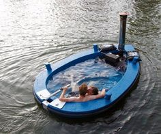 Hot Tug - Hot Tub Tug Boat  @Susan Z. dont replace the dock get this instead!