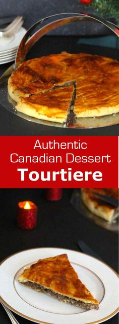 Tourtiere is a delicious Canadian meat pie traditionally served for Christmas and New Year's Eve. #christmas #Canada #196flavors