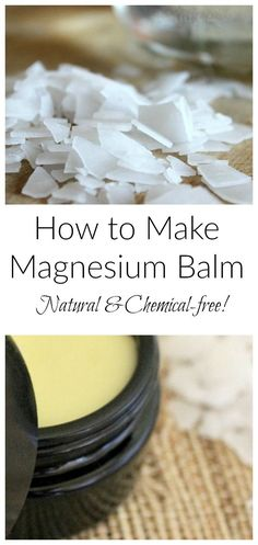 This is a simple way to add magnesium to your regimen. Combine saturated magnesium with your favorite plant oil and plant butter for this DIY Magnesium Balm