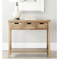 Antigo sofa table by ashley furniture want to know more click safavieh american homes collection autumn oak 3 drawer console table watchthetrailerfo