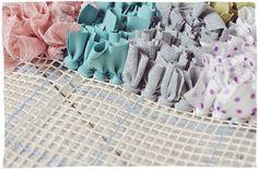 DIY / tuto : le tapis boucherouite (WIP) - Zess.fr // Lifestyle . mode . déco . maman . DIY