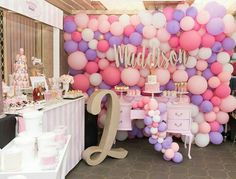 2 Year Old Birthday Party Ideas: Today I share the best ideas of decoration inspired by a birthday party Ideas. 2 Year Old Birthday Party, Unicorn Birthday Parties, Unicorn Party, First Birthday Parties, Birthday Party Themes, Girl Birthday, 9th Birthday, Birthday Ideas, Balloon Wall
