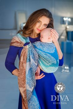 d9ace412ea3 Diva Essenza Ring Sling is a new medium-priced line of baby slings designed  in