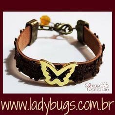 2 d ladybugs.com.brLindezura exclusiva e única by Silmara Gracia Dio ❤Pulseira Borboleta Marrom – Couro Sintético por R$ 31,20 Vem ver: www.ladybugs.com.br ou segue o link na bio  #acessóriosfemininos #acessorios #bijuteria #bijuterias #bijoux #visitenossaloja #bijuteriaonline #exclusividade #novidades #trendalert #moda #tendencia #lojavirtual #lojaonline #look #compredopequeno #caraguatatuba #jundiai #brasil #pulseirafeminina #pulseirismo #pulseira #pulseirismofeminino #vegan #vegano #c
