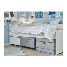 SLÄKT Puff/sammenleggbar madr  - IKEA