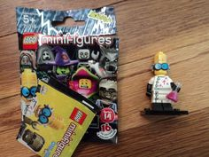 Just listed! New LEGO Series 14 Minifigure Mad Monster Scientist #LEGO #toys #collectibles #nerd #geek