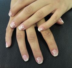 gelnails one stroke flower