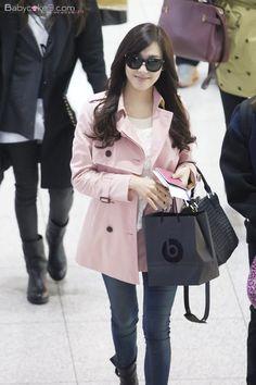 #tiffany #snsd #airport_fashion