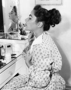 Elizabeth Taylor, 1940s.