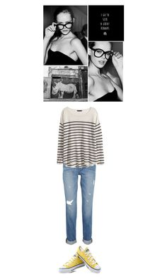"""Seek a Great Perhaps"" by mcfeity ❤ liked on Polyvore featuring FRIDA, J Brand, H&M, Converse, women's clothing, women's fashion, women, female, woman and misses"