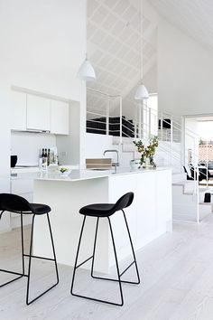 Wonderful kitchen in this summer house from Denmark