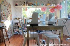 My Studio - The Shed   Siobhan Rogers: New Sewing Machine :) & Autumn