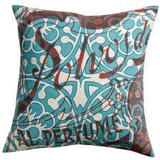 Press Cotton Print Polvos and Tile Pillow