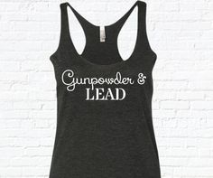 Gunpowder and Lead Tank Top. Country Tank Top. Miranda lambert tank top. Country shirt. Country Tank. Southern Tank. by SouthernCharme