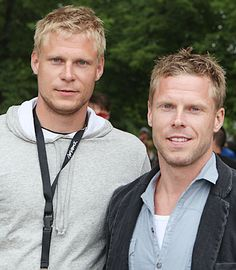 Mikko+ Saku Koivu photo  finnish hockey players