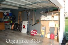 Organize 365 Spring Cleaning and Organization Challenge WEEK 9: The Garage | Organize 365
