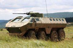 Lazar BVT Mine Resistant Ambush Protected (MRAP) Vehicle (Serbia)