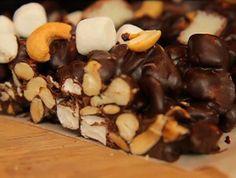 Bounty Road med cashewnötter.   Passar bra även till påsk