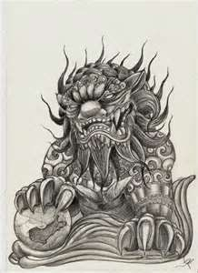 Chinese Guardian Lion Tattoo Designs Dog <b>tattoos</b>, <b>tattoo design</b> for men and japanese <b>tattoo</b> ...