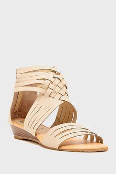 Carrini Woven Wedge Sandal